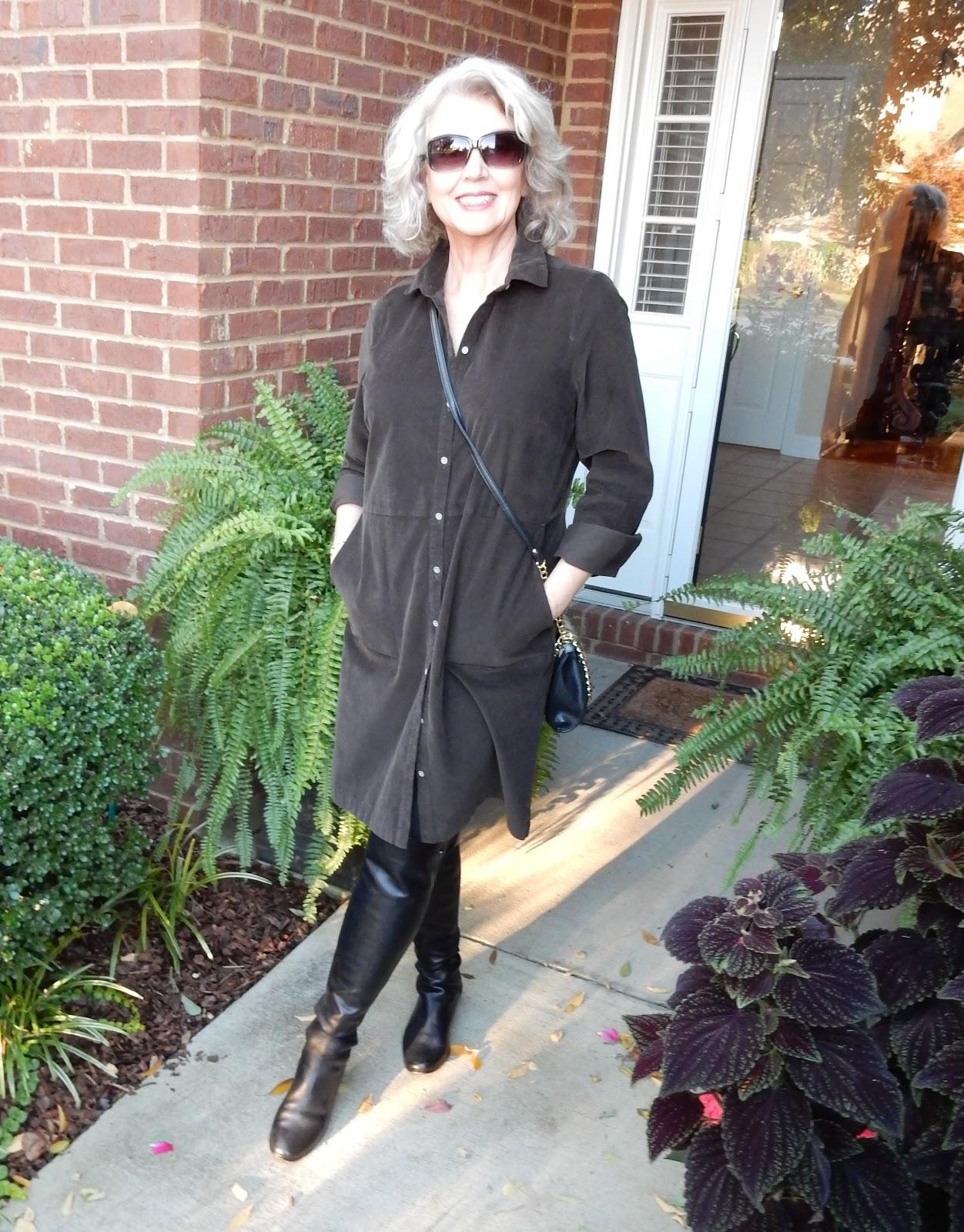 Fifty, not Frumpy: A Dress Three Ways