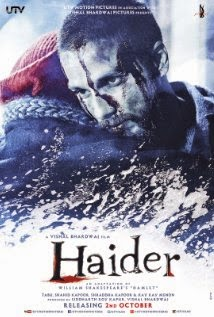 full cast and crew of bollywood movie Haider wiki with story, poster, trailer ft shahid Kapoor, Shraddha Kapoor