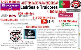 Cortes, Despedimentos, Austeridade, Impostos, Portugal, Grécia, NAZI, FMI, África, Povo, Bancos, Banco, BES, BCP, BANIF, BPI, FINANTIA