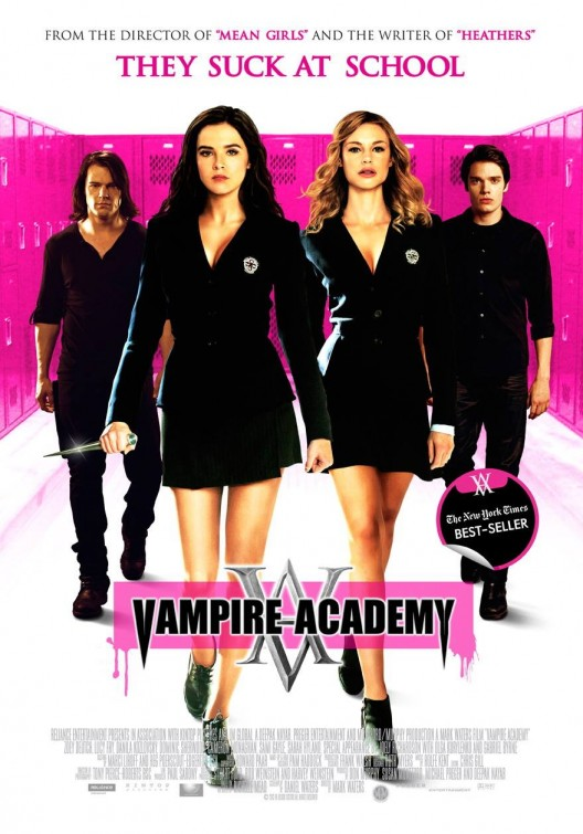 Vampire Academy 2014 480p Blu-Ray Hindi 300mb