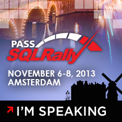 Join us at SQLRally Amsterdam