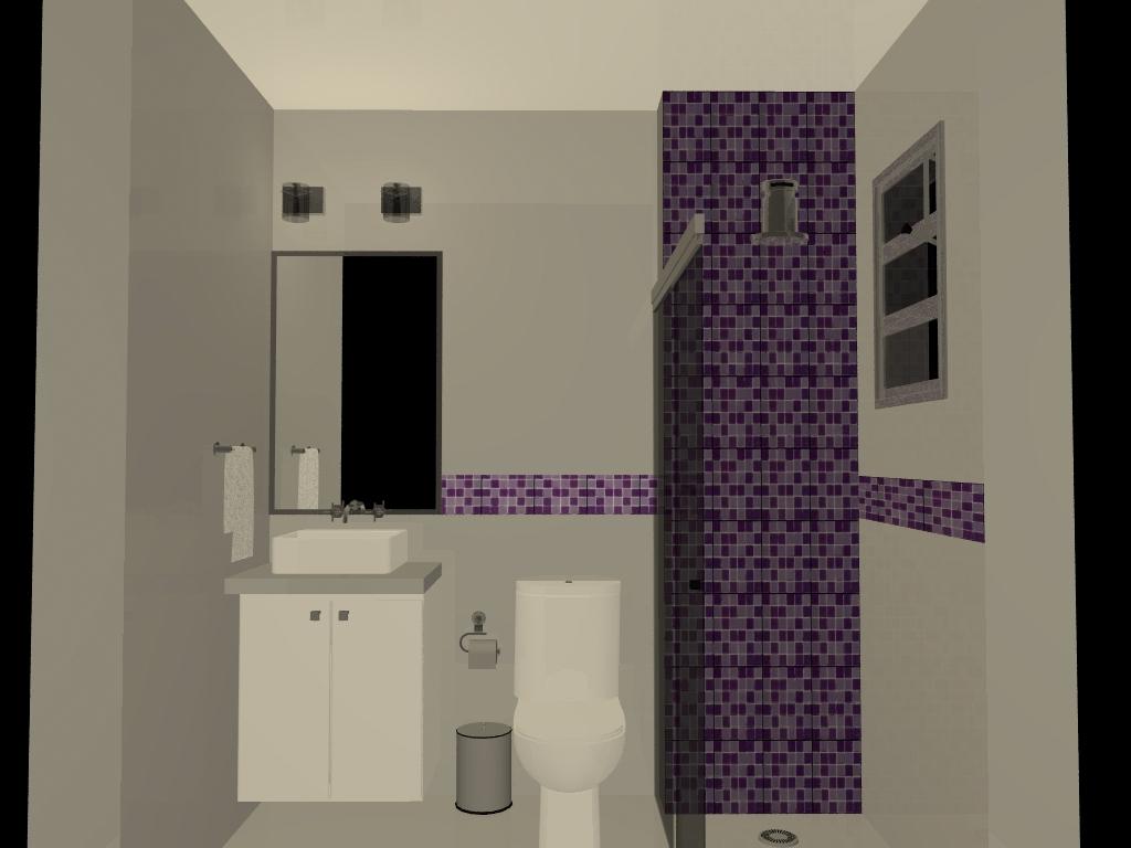 Nossa Tão sonhada Casinha : Banheiros #81714A 1024 768