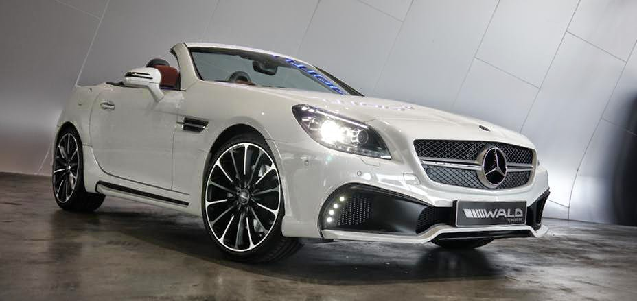Mercedes benz r172 slk by wald international benztuning for Mercedes benz us international