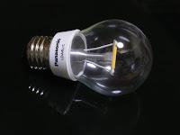 見た目もユニークなLED電球