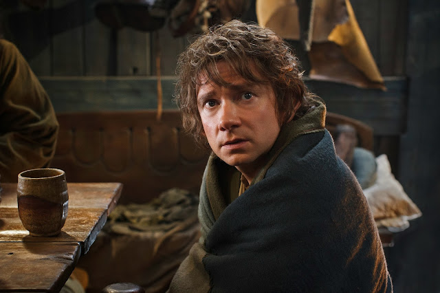 Baggins expression in The Hobbit: The Desolation of Smaug movie still image picture photo