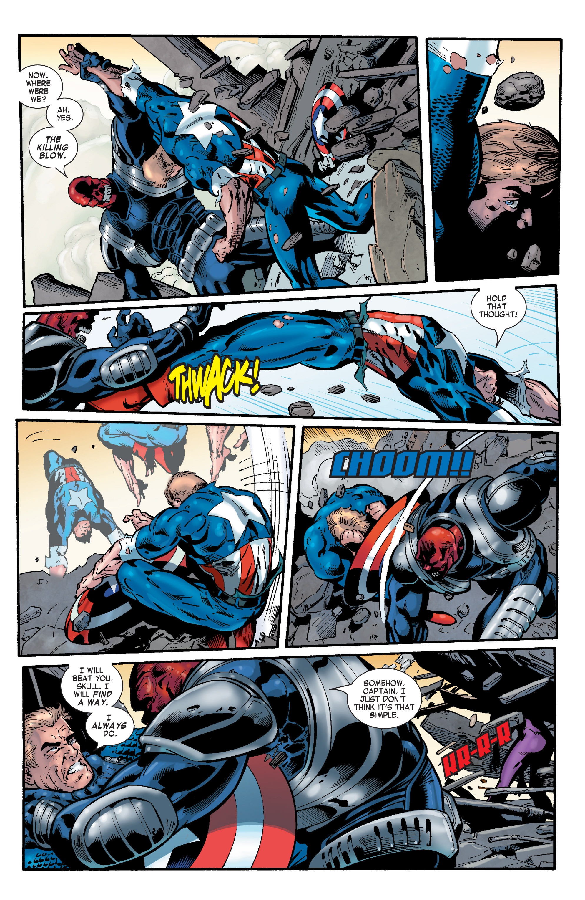 Captain America (2002) Issue #32 #33 - English 15