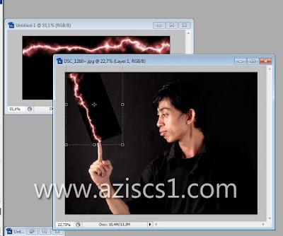 Tutorial Cara memberi efek Listrik atau petir pada foto