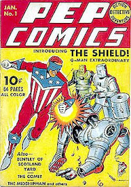 SUPERHEROES FROM THE GOLDEN AGE