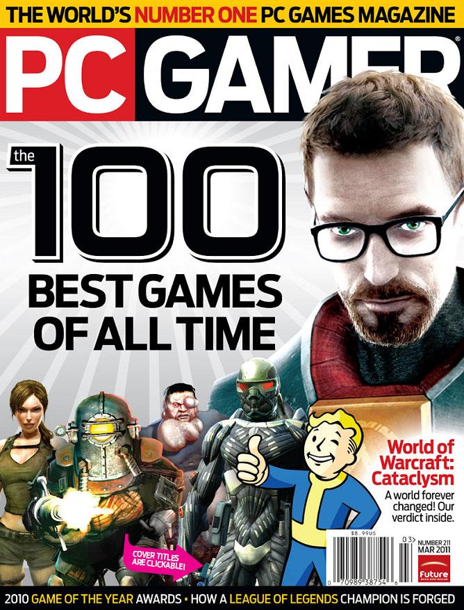 Журнал PC Gamer