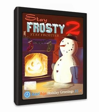 Para estas navidades: Stay Frosty 2 de Atari 2600
