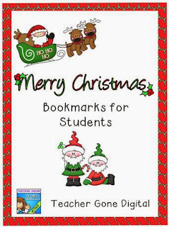 http://www.teacherspayteachers.com/Product/Editable-Christmas-Bookmarks-for-Student-Gifts-429339