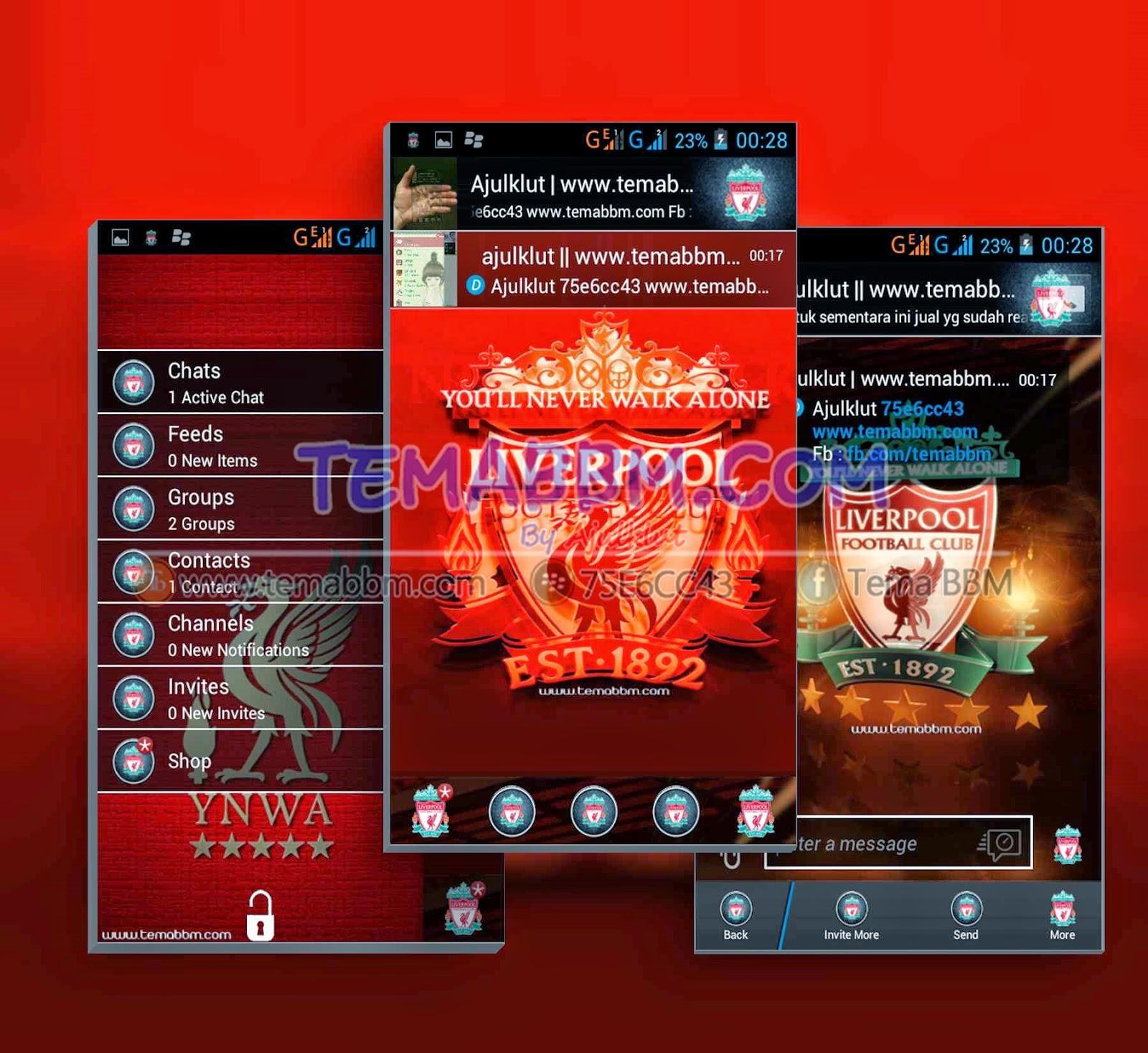 Tema BBM Liverpool