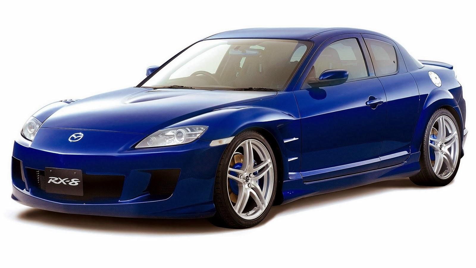 blue rx8