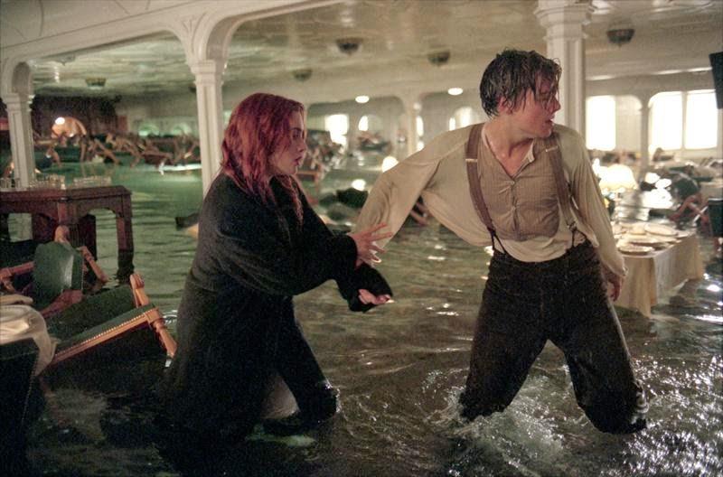 Un romance ficticio el del Titanic?