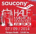 Half Maratón Montevideo (21k, 10k, 5k, 07/sep/2014)