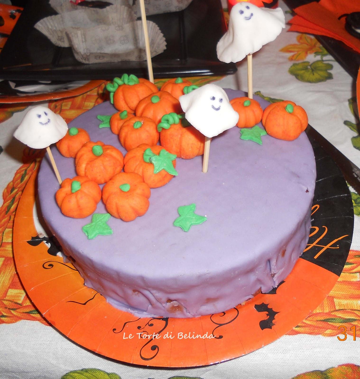 Le Torte Di Belinda Ma Non Solo Torta Di Halloween