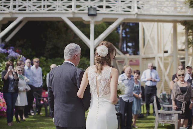 New Zealand garden wedding, by Amy, at Five Kinds of Happy blog