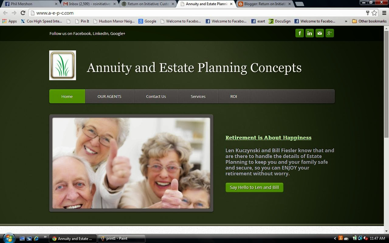 Annuity and Estate Planning