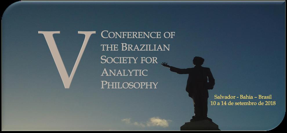 V Congresso da Sociedade Brasileira de Filosofia Analítica