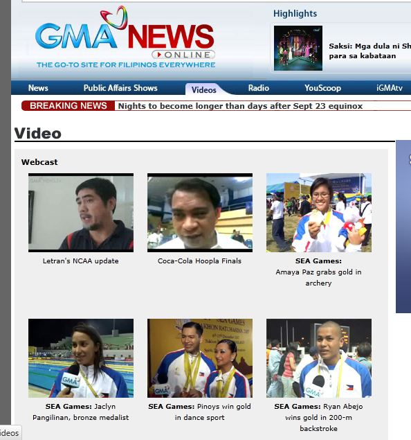 Gma Latest News Update: Watch Gma Online Streaming