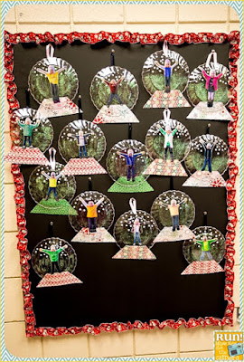 A fun way to have students be caught in a snow globe!  Then you can turn it into a great writing activity as well!