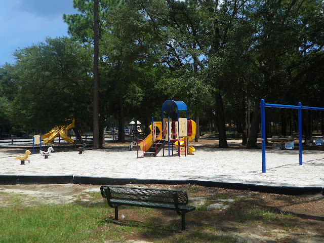 Tot Lot for Children ages 2-5 at Hitzman- Optimist Park