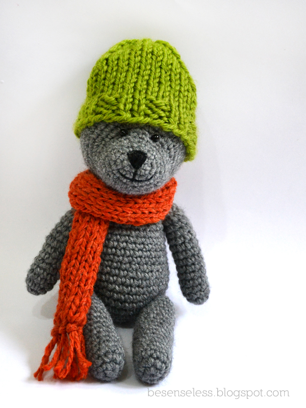 Amigurumi Orsetto Uncinetto : Teddy e il cappello Airali
