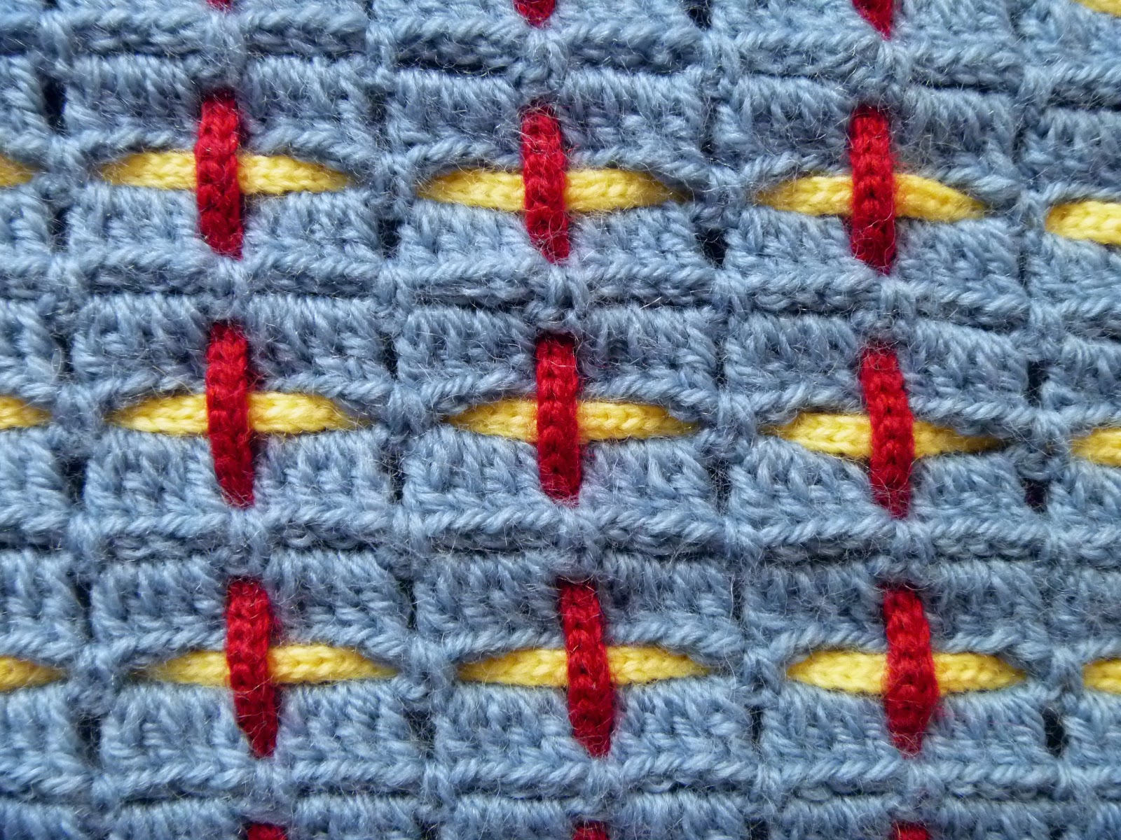 Stitch Story: So Many possibilities for the Woven Placemat!