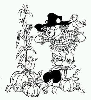 Dibujos de Winnie Pooh para Pintar, parte 6