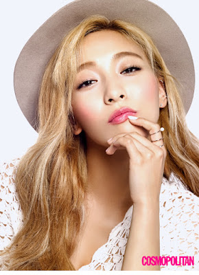 Luna f(x) - Cosmopolitan Magazine August Issue 2015