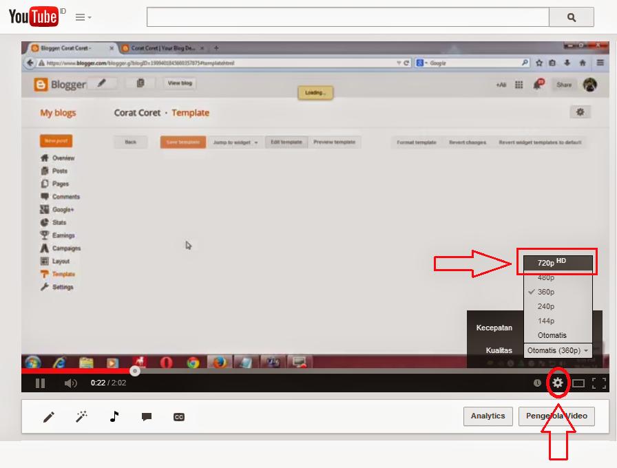 Cara Mengatasi Gambar Buram Pada Saat Melihat Video di Youtube