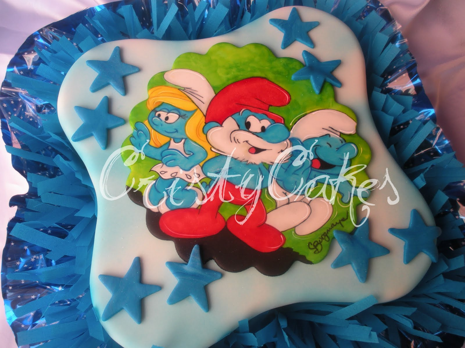 Cristy's Cakes: Los Pitufos