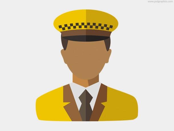 Taxi Driver Icon