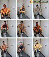 Fotos de mergulhadores olímpicos no toilette vazam na net?