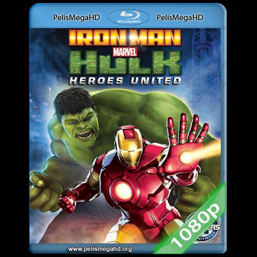 IRON MAN Y HULK: HEROES UNIDOS (2013) FULL 1080P HD MKV ESPAÑOL LATINO