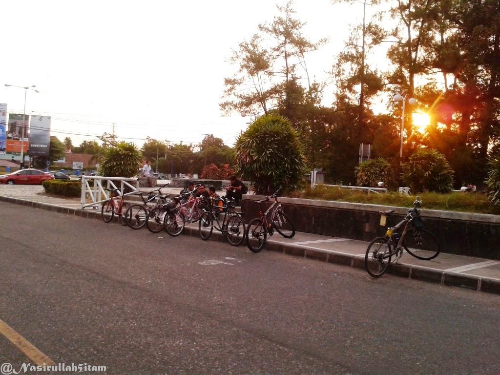 Sepeda kumpul reboan