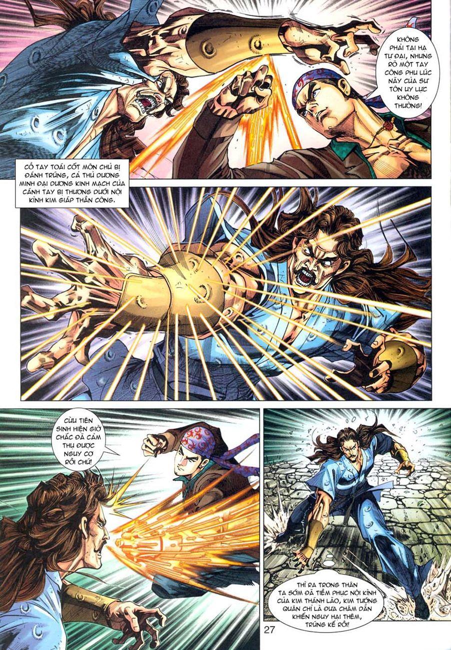 Tân Tác Long Hổ Môn chap 294 - Trang 27