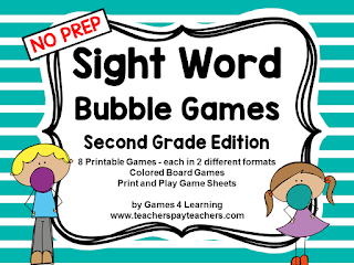 https://www.teacherspayteachers.com/Product/Sight-Words-2098314