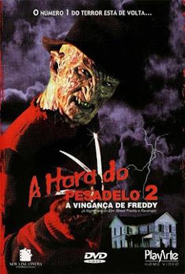 Capa - A Hora do Pesadelo 2: A Vingança de Freddy