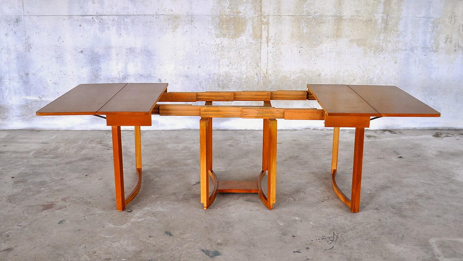 Designed By TH Robsjohn Gibbins 1950s Manufactured Widdicomb Furniture