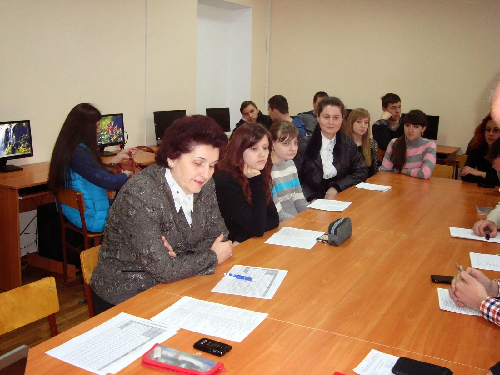 Секція «Сучасні комп'ютерні технології в економіці й освіті» 26-ї студентської науково-теоретичної конференції.