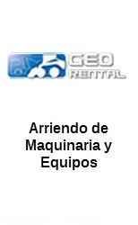ARRIENDO DE VEHICULOS, EQUIPOS Y MAQUINARIAS