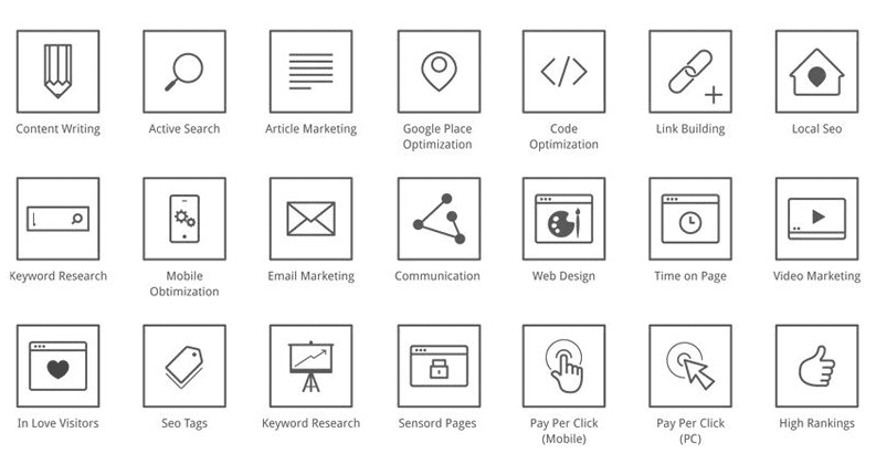 Free SEO Icons (AI, EPS)