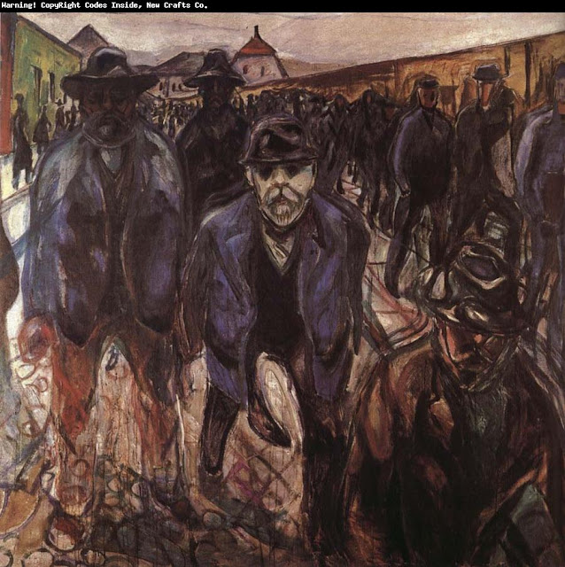 the life and art career of edvard munch Edvard munch was a norwegian painter and  of pictures, several of them in  larger format and to some extent featuring the art nouveau aesthetics of the time.