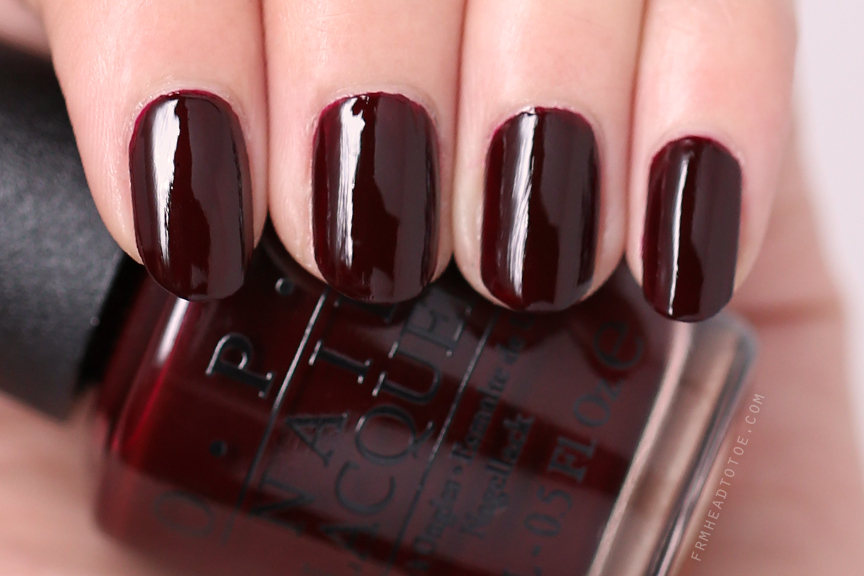 Manicure Monday: OPI Visions Of Love - From Head To Toe