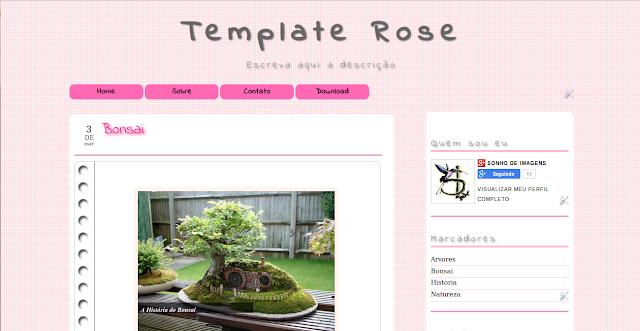Template Rose