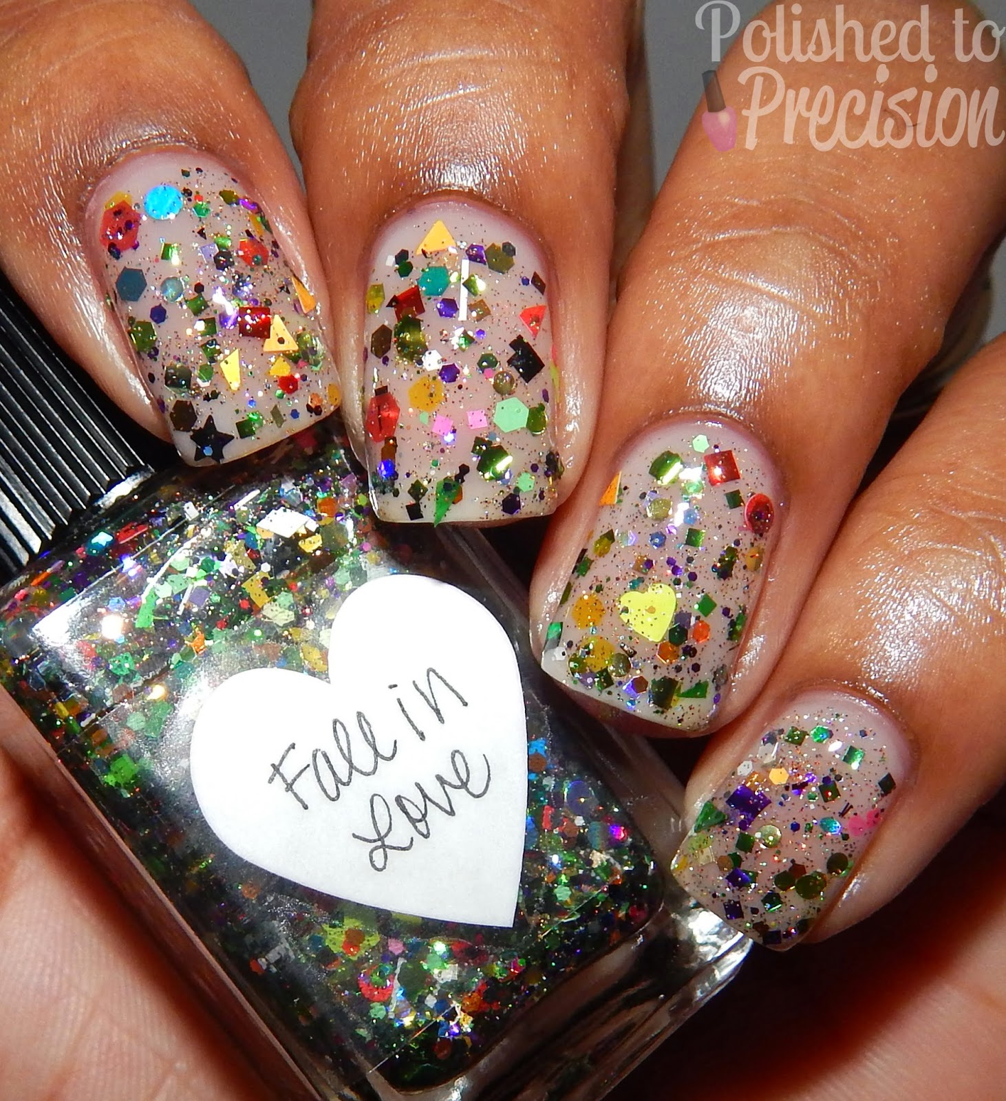 Polished to Precision: Lynnderella- Fall in Love & Jammy Blue Review