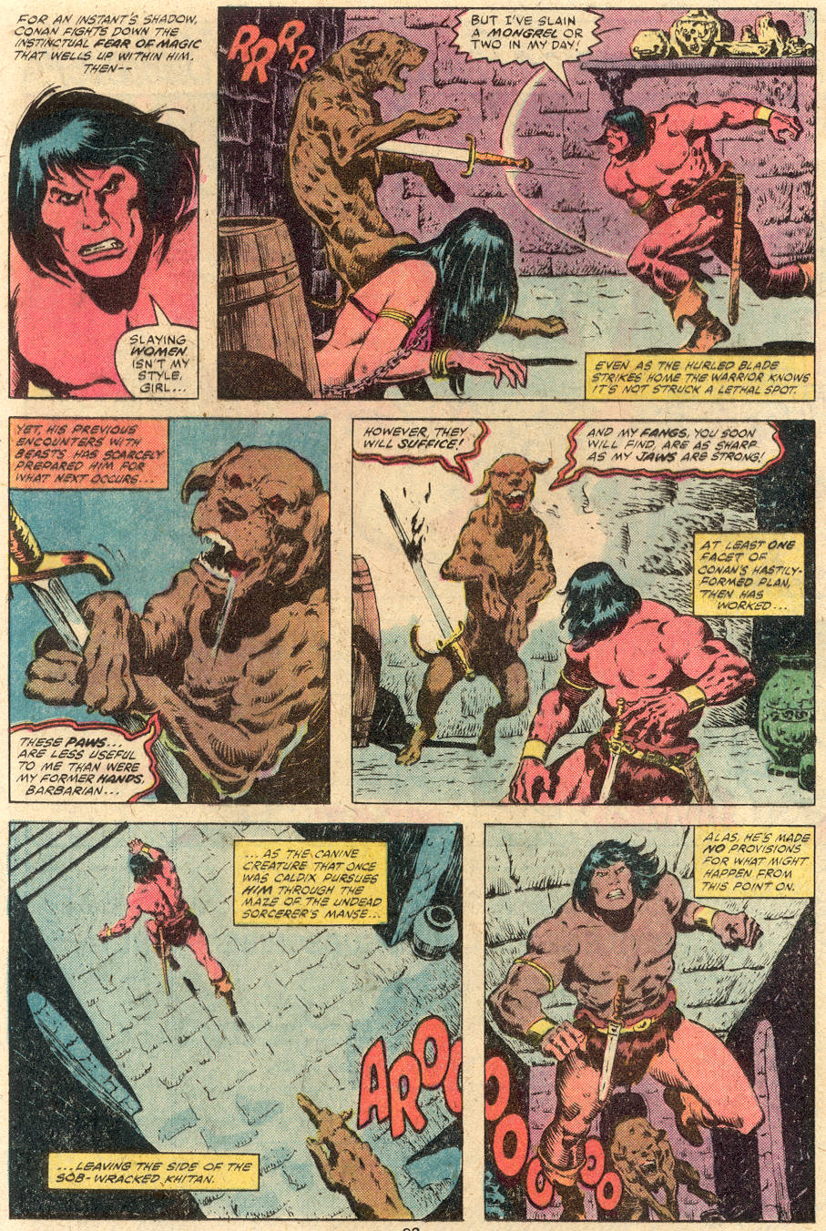 Conan the Barbarian (1970) Issue #114 #126 - English 14