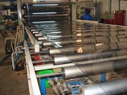 Dây chuyền sản xuất cuộn màng nhựa  pvc trong