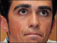 Alberto Contador doping